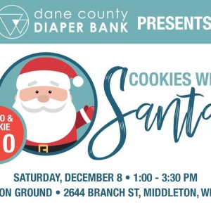 Things to do in Madison, WI: Cookies with Santa!