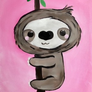 Cookies & Canvas - Baby Sloth