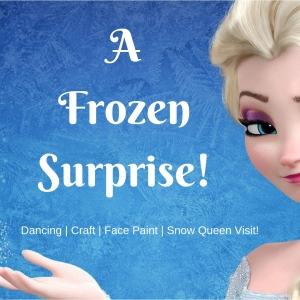 Eastern Main Line, PA Events: A Frozen Surprise! Meet the Snow Queen!