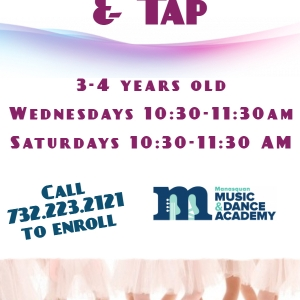 Southern Monmouth, NJ Events: Free Month of Foxy Ballet and Tap!