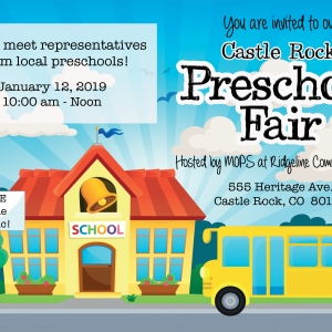 Things to do in Castle Rock-Parker, CO	: 2019 Castle Rock Preschool Fair
