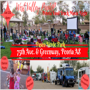 A Peoria Food Truck MOVIE NIGHT & MORE ~