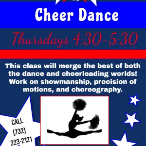 Southern Monmouth, NJ Events: Cheer Dance Class