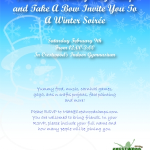 Things to do in Bethpage-Levittown, NY for Kids: Take A Bow & Crestwood'€™s Winter Soiree, Take A Bow