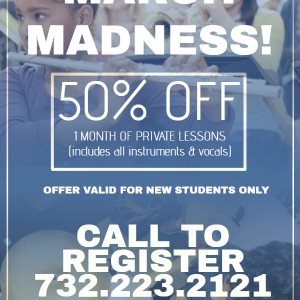 Southern Monmouth, NJ Events: March Madness