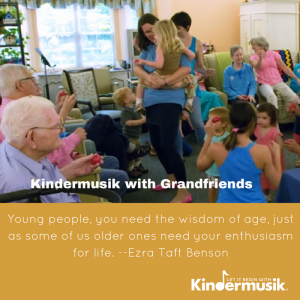 Canton-Plymouth, MI Events: Kindermusik with Grandfriends