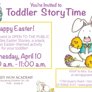 Lower Bucks County, PA Events: Toddler Storytime - April 10