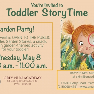 Lower Bucks County, PA Events: Toddler Storytime - May 8