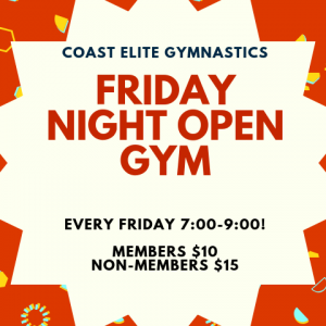Fort Myers, FL Events: Open Gym at Coast Elite