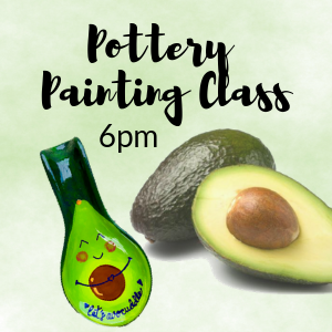Fishers-Noblesville, IN Events: Pottery Painting Class