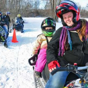 Take a Friend Snowmobiling
