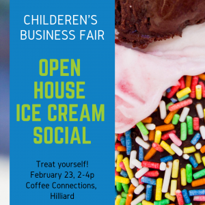 Children's Business Fair Open House