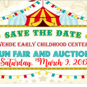 Things to do in Crystal Lake, IL for Kids: Wehde Annual Auction and Fun Fair, Wehde Early Childhood Center