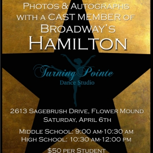 Things to do in Flower Mound-Lewisville, TX for Kids: Theatre dance with HAMILTON cast member!, Turning Pointe Dance Studio