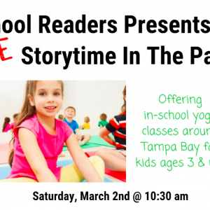 South Tampa, FL Events: FREE Storytime in the Park
