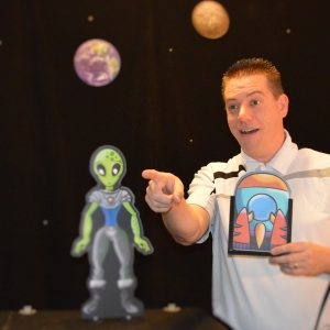 Things to do in Pascack-Northern-Valley, NJ for Kids: The Out of This World Magic Show with NJ, Oradell Public Library