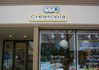 Creatopia Pottery Paint-It-Yourself Pottery Studio