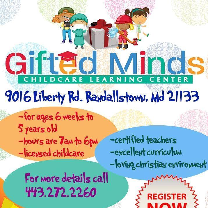 Gifted Minds Daycare Learning Center