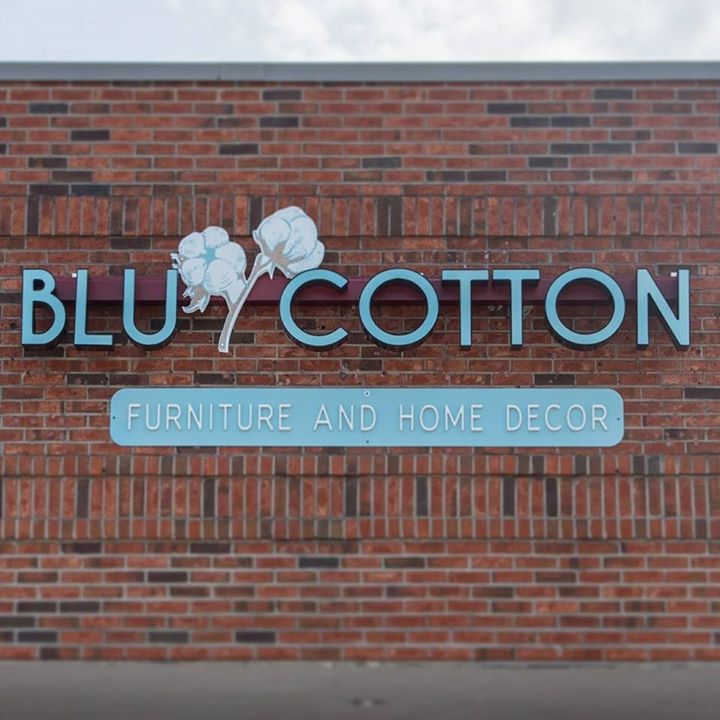 BLU Cotton Furniture and Home Decor