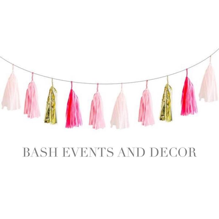 BASH events and decor