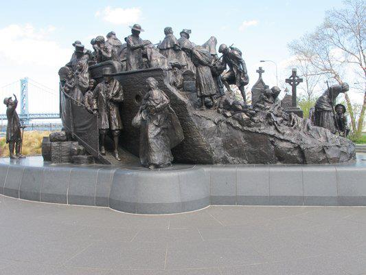 The Irish Memorial at Penn's Landing