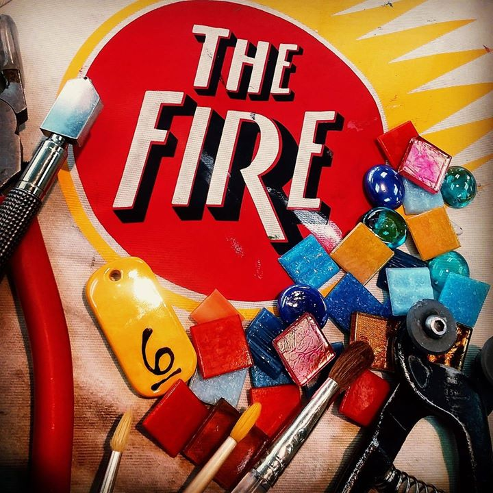 The Fire - Pottery, Mosaic & Glass Fusing Studio