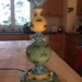 Hand painted lamp for children's room