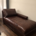 Restoration Hardware NEW Leather Chaise $500