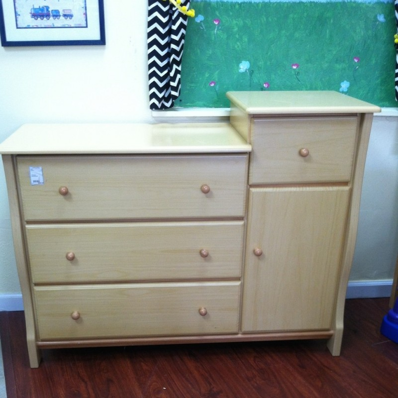 Superb Natural Wood Dresser U0026 Changing Table